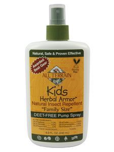 Kids Herbal Armor Insect Repell Spry 8oz