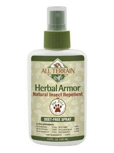 Pet Herbal Armor Insect Repell Spray 4oz