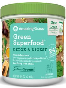 Detox & Digest Green SF 30 servings