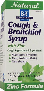 Cough & Bronchial Syrup with Zinc 8 oz