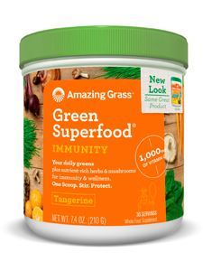 Immunity Tangerine Green SuperFood 7.4oz