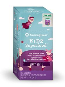 Kidz SuperFood Wild Berry 15 pkts