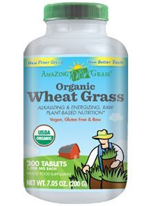 Organic Wheat Grass 200 tabs