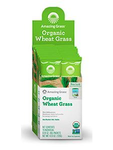 Organic Wheat Grass 15 8 g packets
