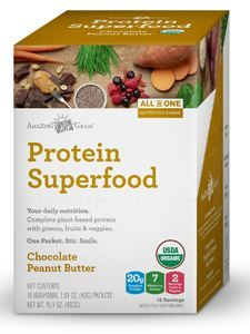 Protein SuperFood Peanut But Ch 10 packs