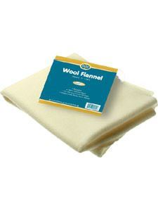 Wool Flannel for Castor Oil packs 1 pkt