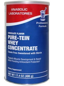 Pure -Tein Whey Chocolate 17.4 oz