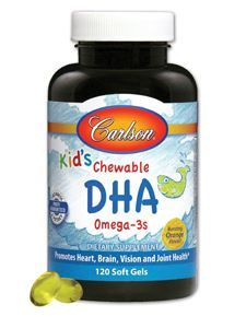Kids Chewable DHA Omega -3s 120 softgels