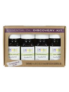 Essential Oil Discovery Kit 4 bottles