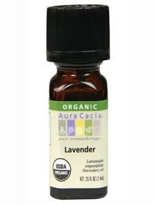Lavender Organic Essential Oil .25 oz