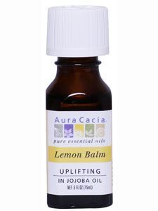 Lemon Balm in Jojoba .5 oz
