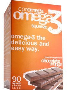 Coromega Chocolate Orange 90 pkts