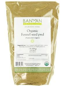 Fennel Powder Organic 1 lb