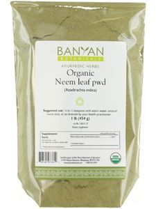 Neem Leaf Powder (Organic) 1 lb