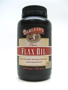 Flax Oil 1000 mg 250 gels