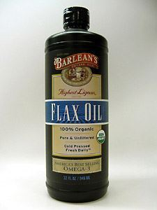 Highest Lignan Flax Oil Organic 32 oz