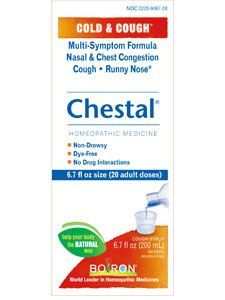 Chestal Adult Cough & Cold 6.7 fl oz
