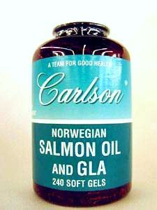 Salmon Oil and GLA 240 gels