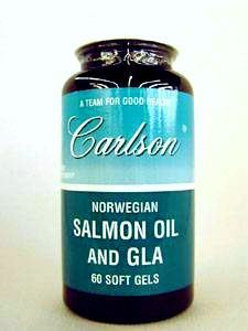 Salmon Oil and GLA 60 gels