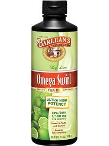 Ultra High Key Lime Omega Swirl 16oz