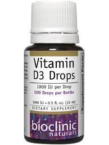 Vitamin D3 Drops 1000 IU 0.5 fl oz