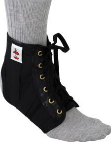 Lightweight Ankle Support Blk (XS)