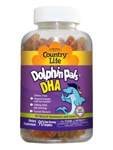 Dolphin Pals DHA for Kids 90 gummies