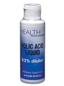 Folic Acid Liquid 100 mcg 4 oz
