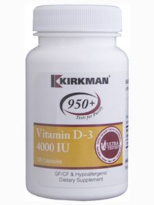 Vitamin D -3 4000 IU 120 caps