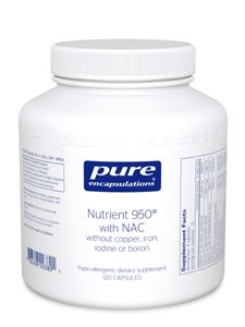 Nutrient 950 with NAC 120 vcaps
