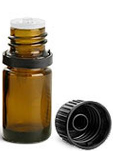 Amber bottle w/orifice 5 ml