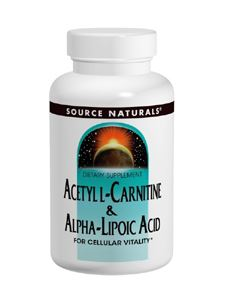 Acetyl L -Carnitine -Alpha Lip. Acid 60tab