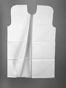 Tissue Examination Gown White 3 -Ply 50pc