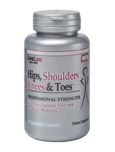 Hips, Shoulders, Knees & Toes 60 vcaps