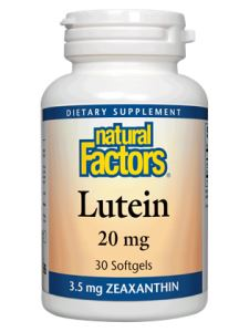 Lutein 20 mg 30 softgels