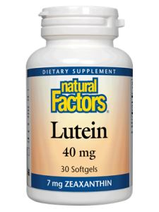 Lutein 40 mg 30 softgels