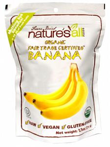 Organic Freeze Dried Banana 2.5 oz