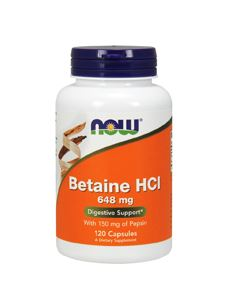 Betaine HCl 648 mg 120 caps
