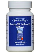 Load image into Gallery viewer, Acetyl Glutathione 300 mg 60 tabs