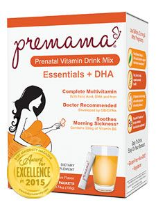 Premama Essentials + DHA Cit 28 packets