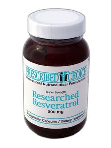 Researched TransResveratrol 500mg 30vcap