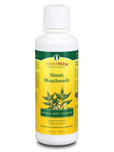 Neem Mouthwash Mint 16 fl oz