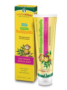 Kids Neem Toothpaste Tropical Bl 4.23 oz