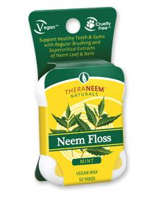 Neem Dental Floss Mint 50 yards