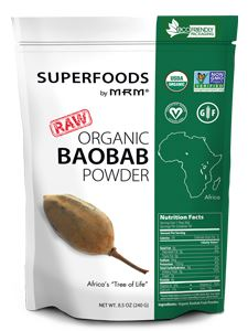 Raw Organic Baobab Fruit Powder 8.5 oz