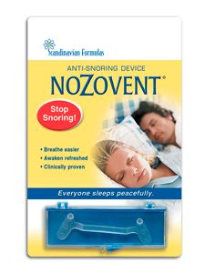 NoZovent Anti -Snoring 1 strip