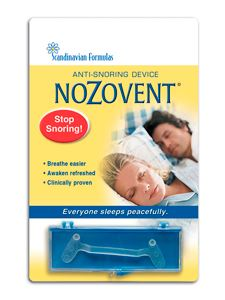 NoZovent Anti -Snoring 2 strip