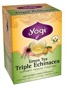 Green Tea Triple Echinacea 16 bags