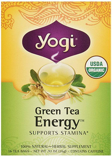 Green Tea Energy Organic 16 bags