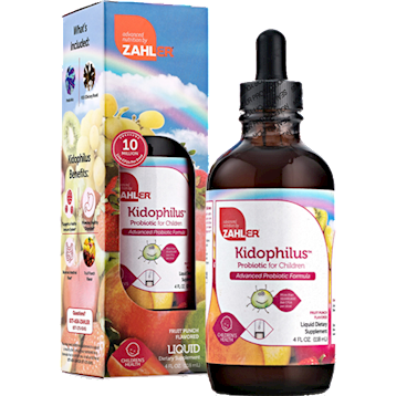 Kidophilus -Fruit Punch 4 fl oz